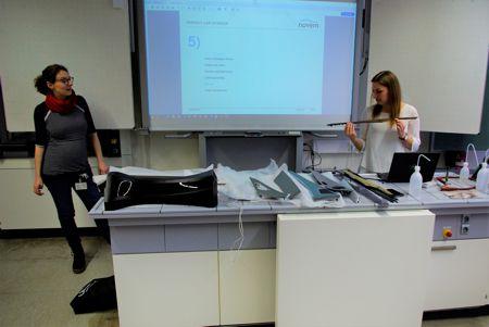 Die Firma novem engagiert sich in der Schülerforschungswerkstatt